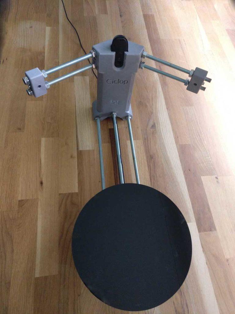 3d scanner Cyclop on Speaker