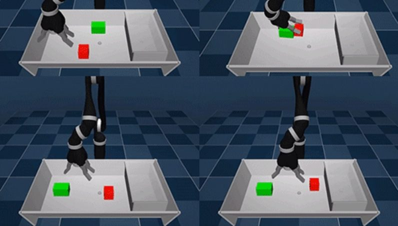 DeepMind's robot on how to catch