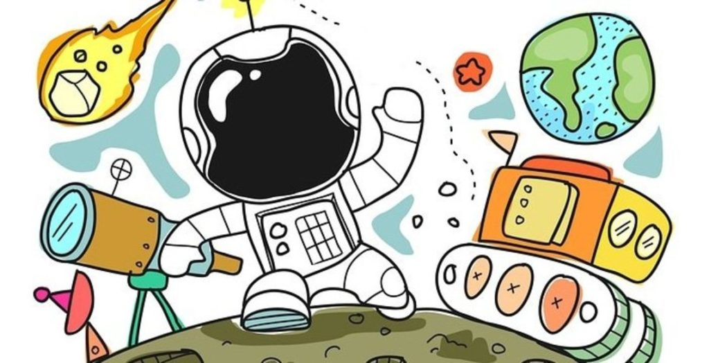 Astronaut, science and technology